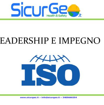 Leadership e Impegno – UNI EN ISO 9001:2015